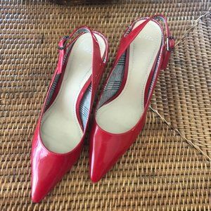 Red Patent Slings